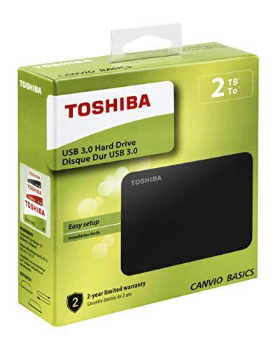 Toshiba Canvio Basics 2 TB Disco Externo