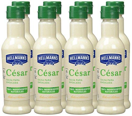 Hellmann's Salsa para Ensaladas cesar - Paquete de 8 x 210 ml: Total: 1680 ml