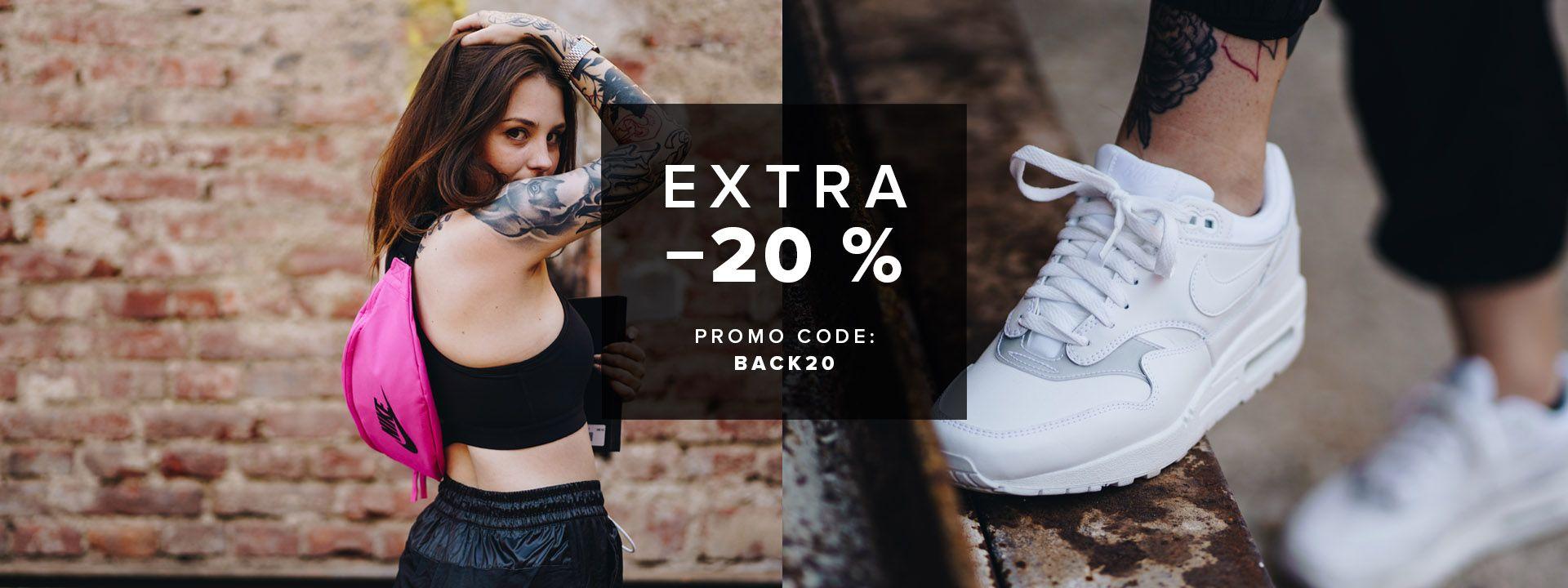20% código descuento FootShop.eu en sección BackToSchool