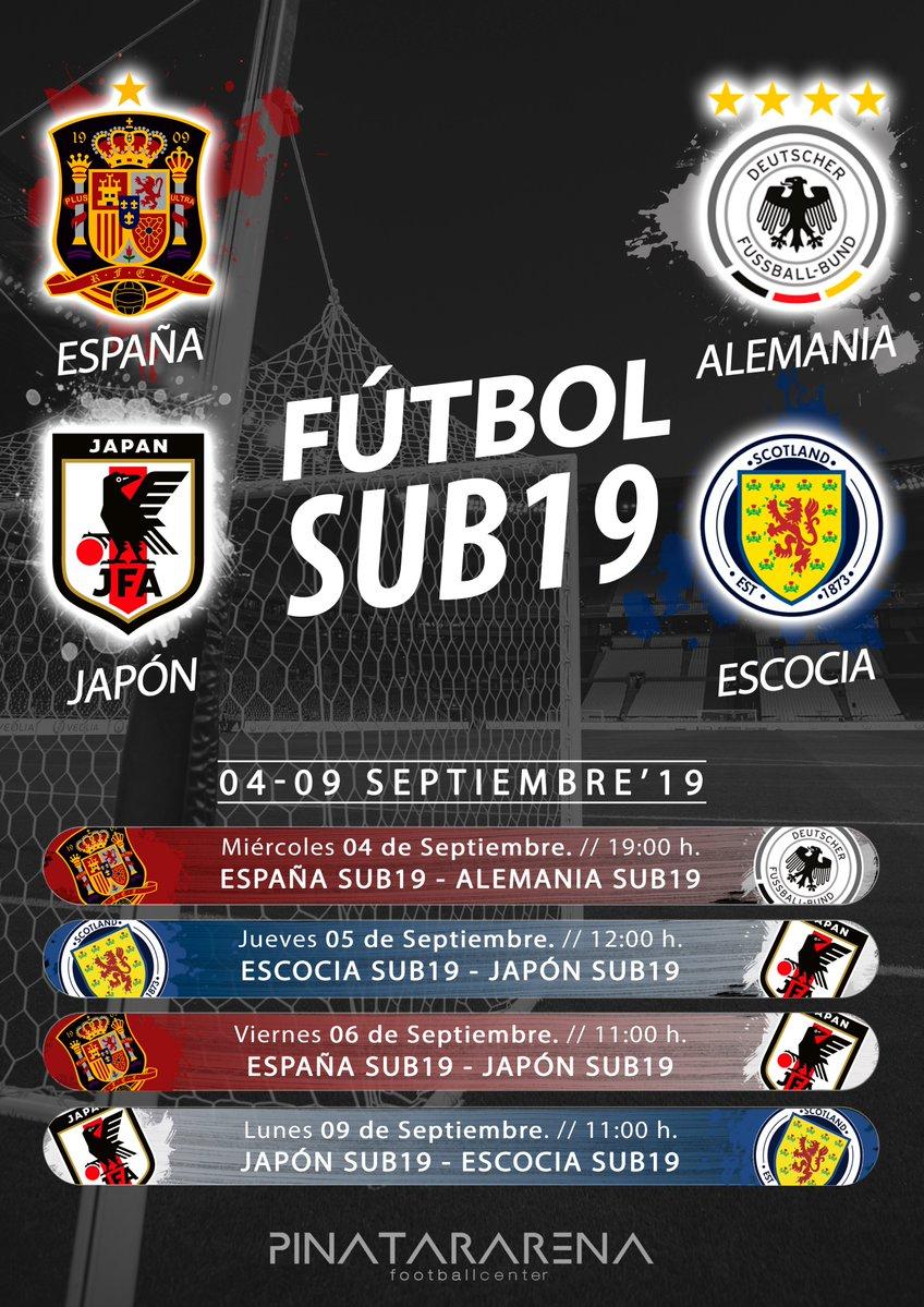 Entrada GRATUITA España-Alemania Sub19   Pinatar Arena Murcia