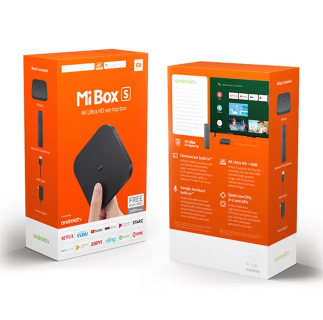 ¡PRECIAZO! Xiaomi MI BOX S 4K [Desde España] (Versión Global)