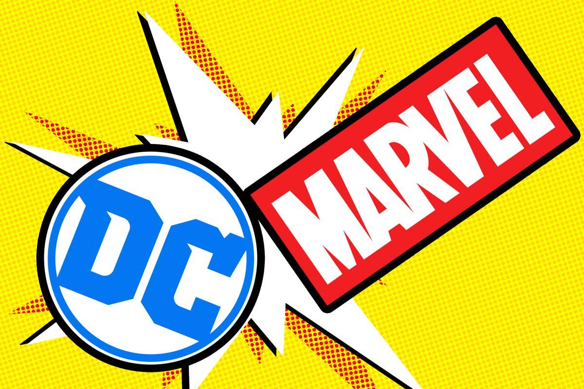 Figuras  DC / MARVEL menos de 10 €