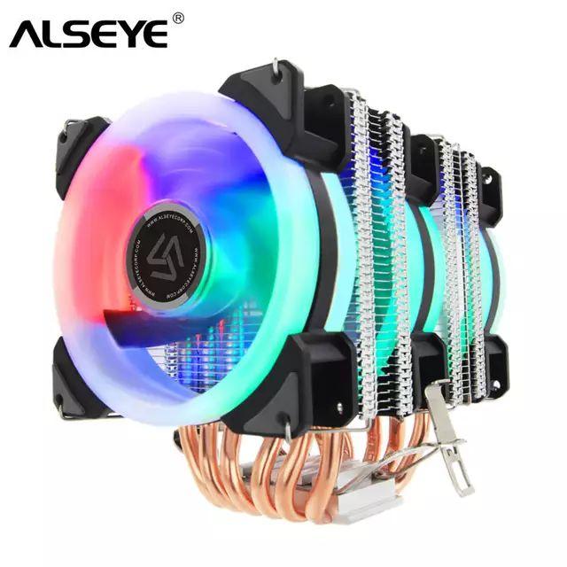 Refrigerador 3 ventiladores RGB 15-22dB a preciazo!!!