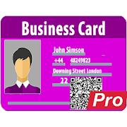 Pro vCard MeCard, BizCard QR Hacer, crear, generar