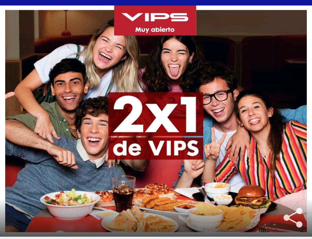 2X1 en VIPS