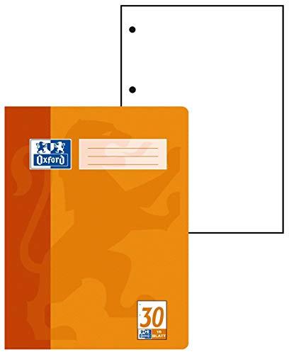 Hamelin Oxford - Lote de cuadernos 15 unidades, A4, formato de fondo 30, 16 pg