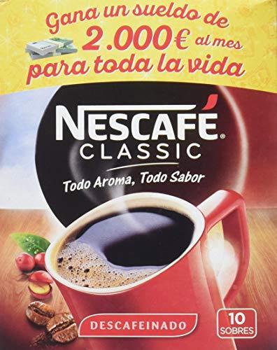 60 sobres Nescafé Classic Descafeinado - Café Soluble [producto plus]