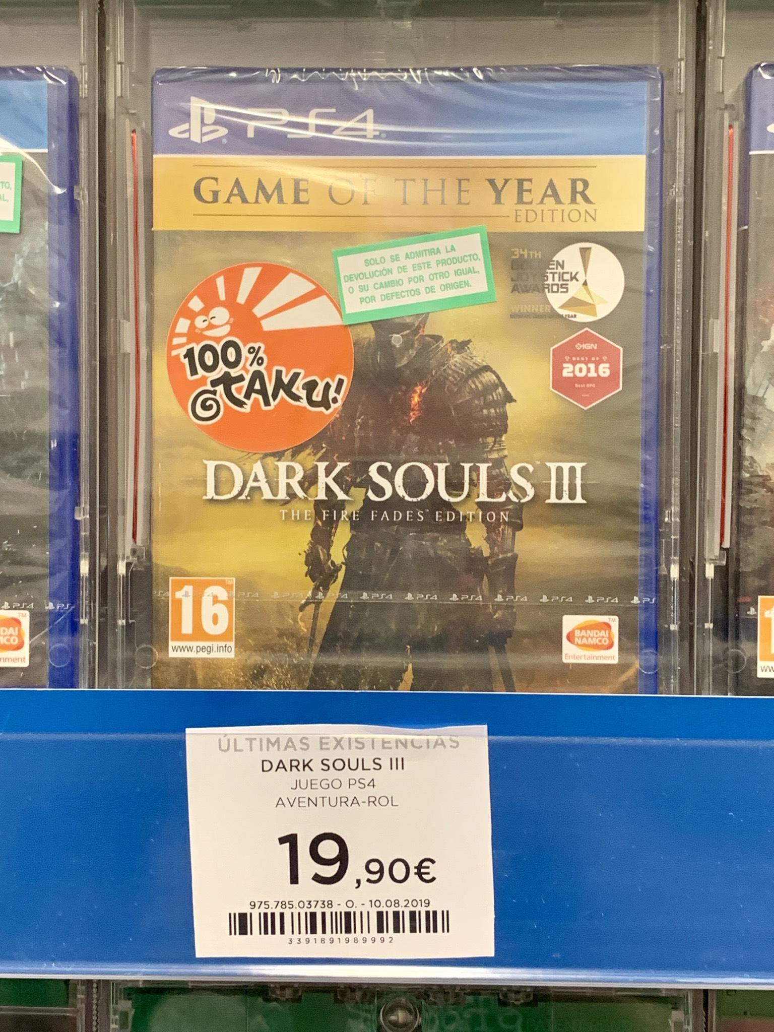 PS4 DARK SOULS III GOTY FÍSICO