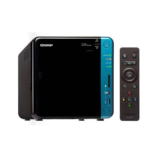 Servidor NAS multimedia QNAP TS-453B-4G de 4 Bahías y 4GB de memoria