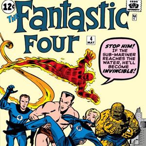 Gratis: Los 4 Fantásticos (1961)  #1 y #4