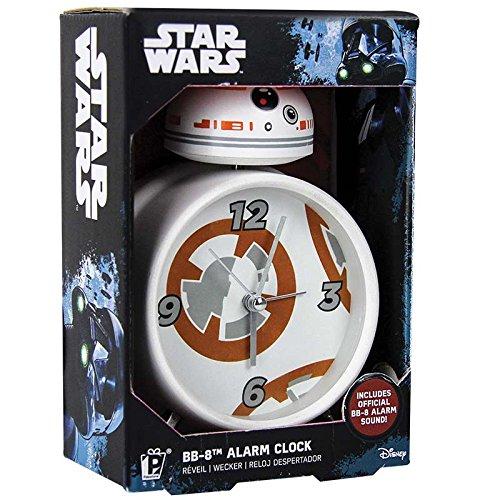 Despertador Star Wars BB 8, Metal, 16x10x6 cm. Producto Plus.