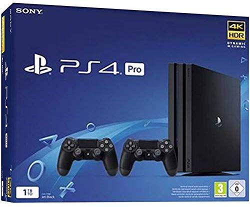 PlayStation 4 Pro 1TB + 2 Mandos PS4 V2