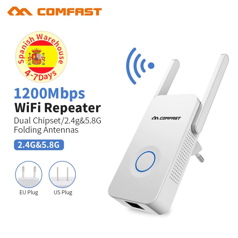 CHOLLAZO: Repetidor de 1200Mbps 5Ghz