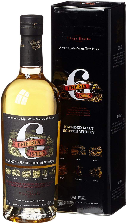 Whisky Six Isles Blended Malt Scotch - 700 ml.