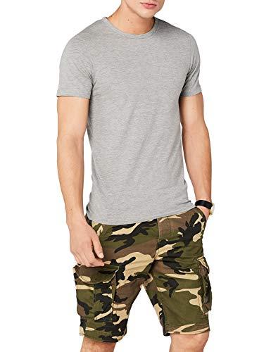 Camiseta básica gris Jack & Jones - TODAS LAS TALLAS