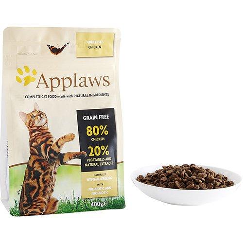 400g de comida para gatos