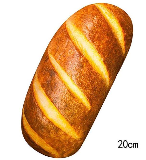 Cojín con forma de pan (20 cm)
