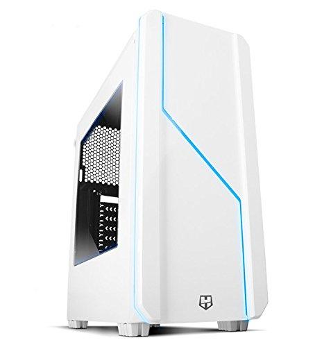 Nox Hummer MC White - NXHUMMERMCW - Caja PC, Color Blanco
