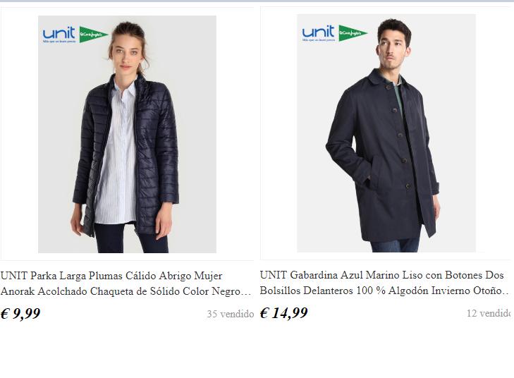 Chaquetas de mujer desde 9,99€ y para hombre desde 14,99€