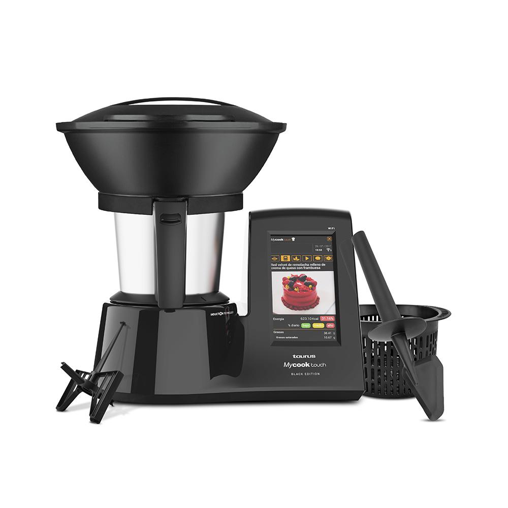 Robot de cocina Mycook Touch Black Edition