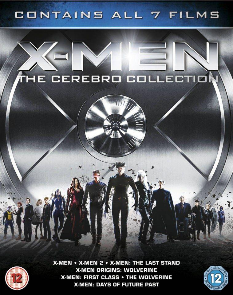 X-men: colección cerebro (Blu-ray)