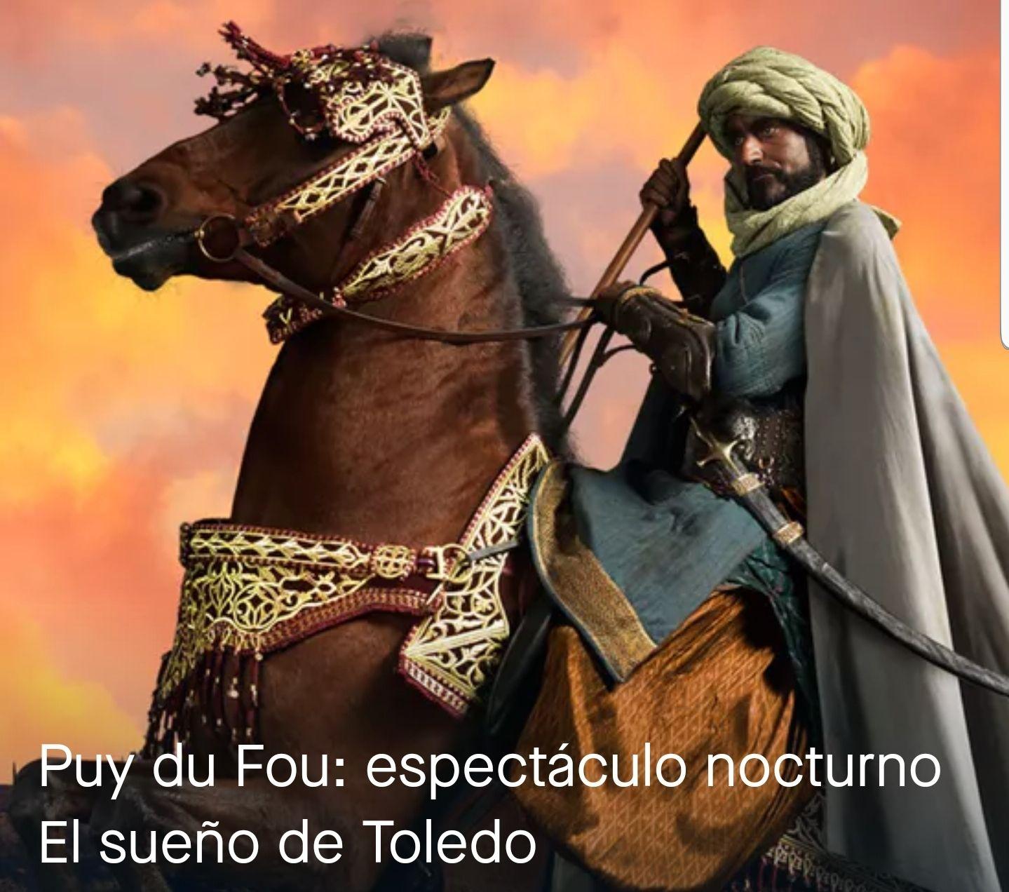 Puy du Fou: espectáculo nocturno El sueño de Toledo (Fever)