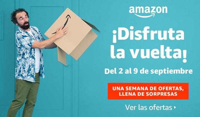 ¡Disfruta la vuelta con Amazon! Desde el lunes