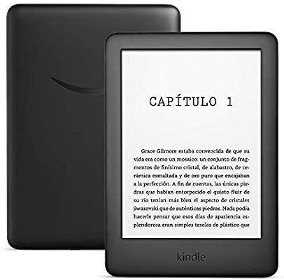 Nuevo Kindle, ahora con luz frontal integrada, negro