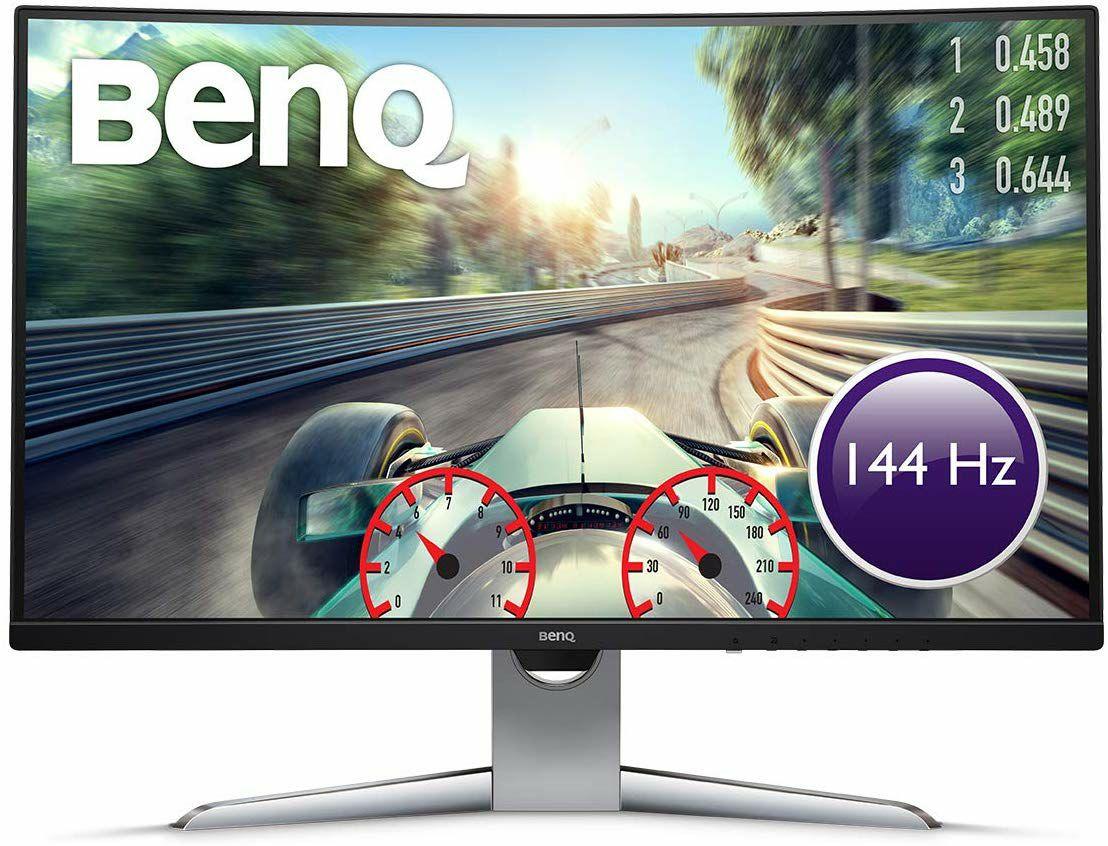 """BenQ EX3203R - Monitor Curvo de 31.5"""" QHD 2K, 144 Hz, HDR por 414 €"""