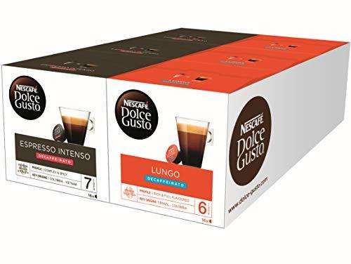 Nescafé Dolce Gusto - 48 x Espresso y 48 x Café Lungo Descafeinado