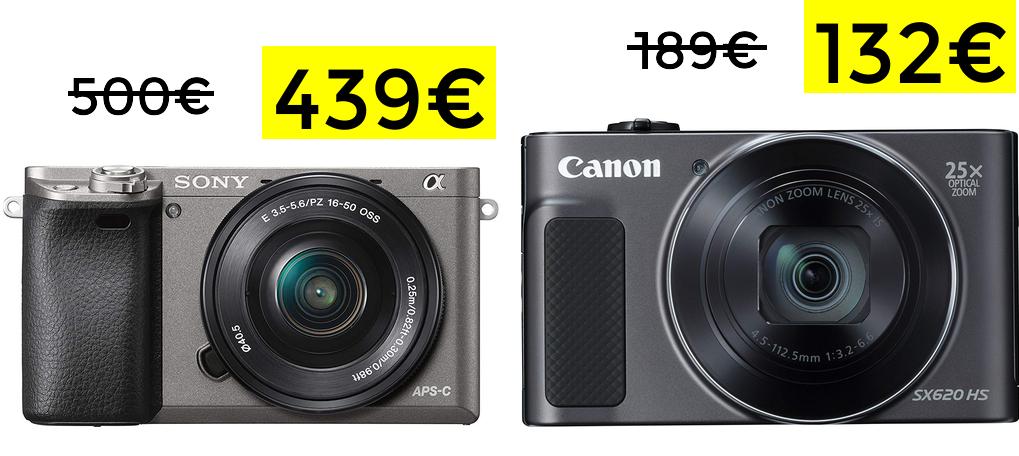 Bajadas en cámaras fotográficas