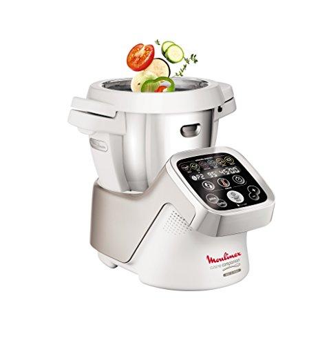 Moulinex Cuisine Companion HF802A - Robot cocina con 6 programas automáticos