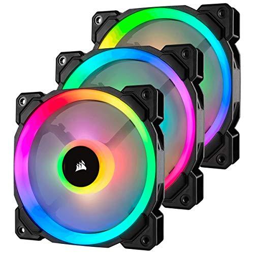 Pack 3 Ventiladores 120mm CORSAIR LL120 RGB