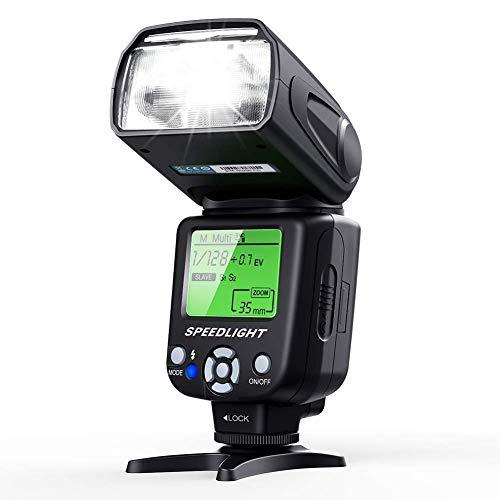Flash Speedlite para cámara DSLR y EVIL