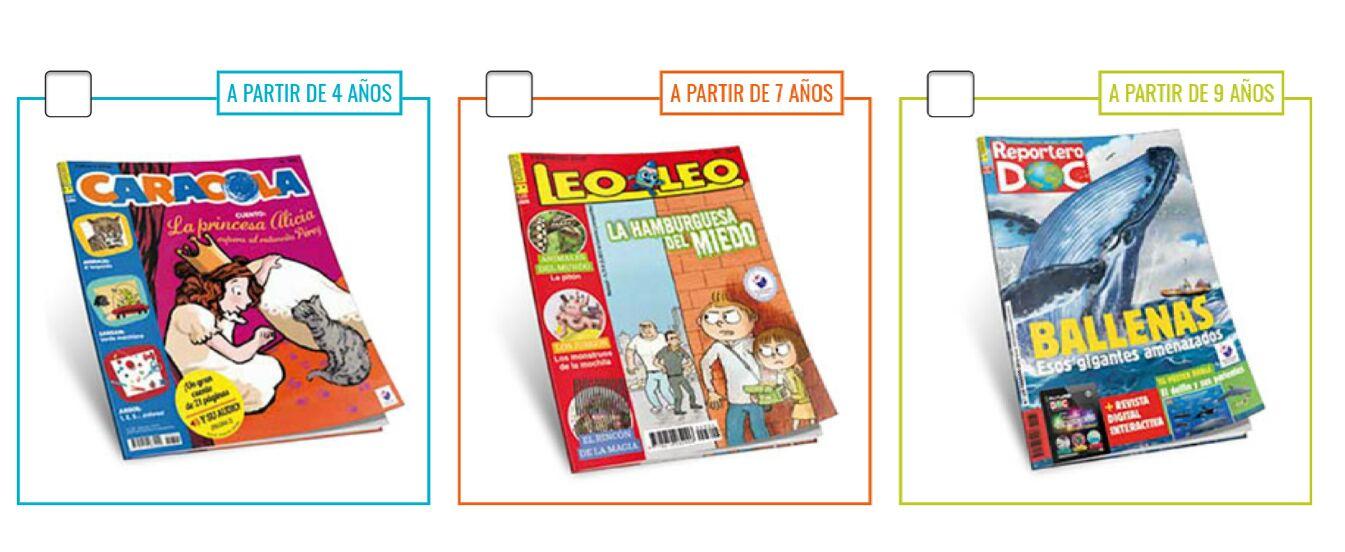 Revista infantil gratis
