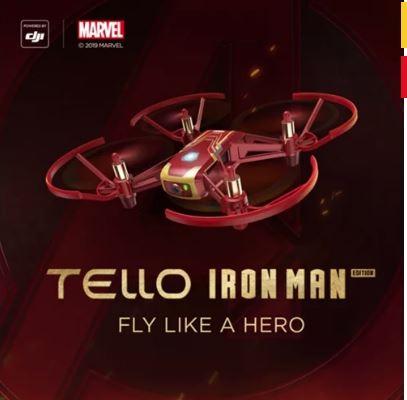 Drone Dji Tello Ironman