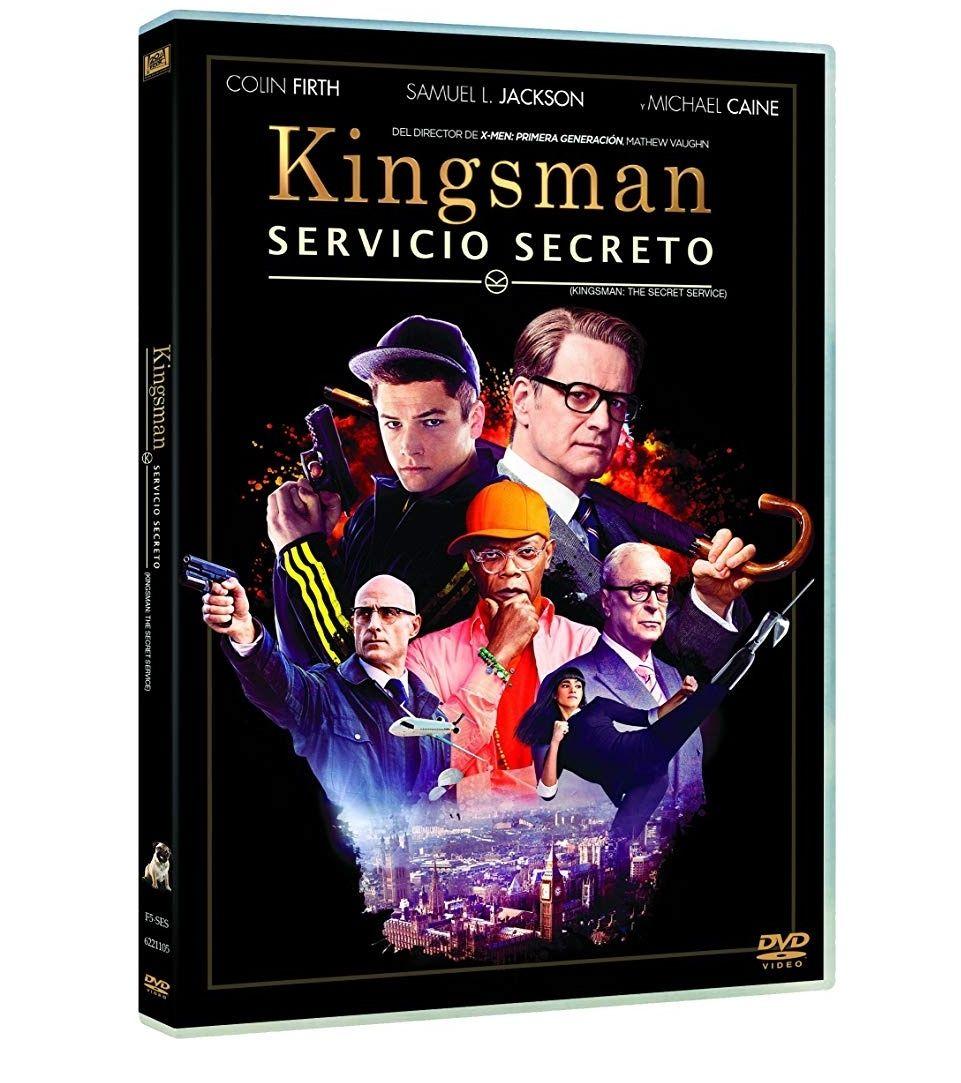 Kingsman: Servicio Secreto DVD (Ed. Limitada)