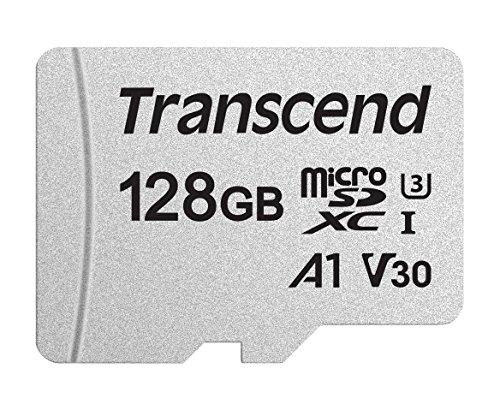 Transcend microSD de 128 GB con adaptador SD