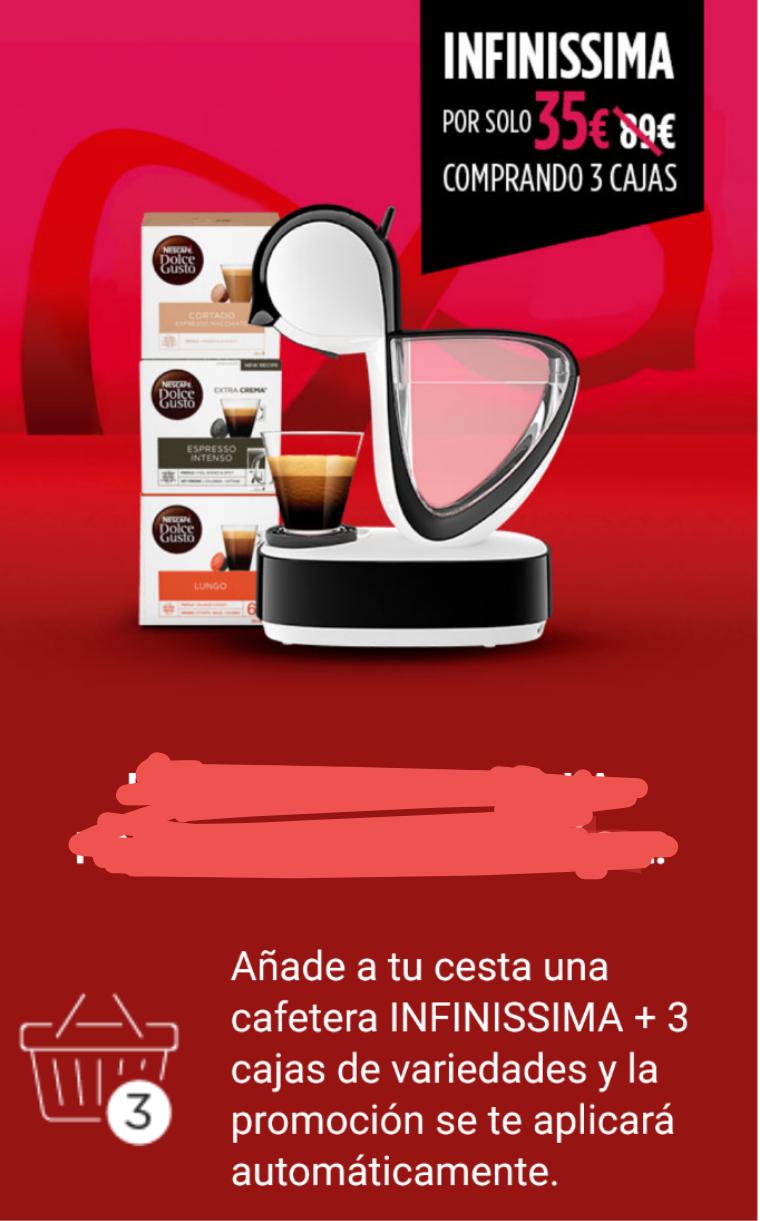 Cafetera De'Longhi Dolce Gusto