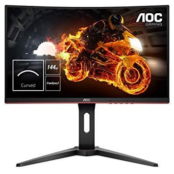 Monitor Gaming Curvo AOC C24G1 (24'', 144 Hz, 1 ms)