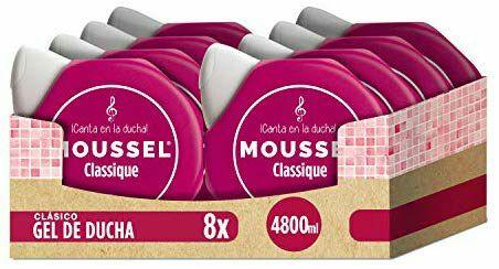 Moussel Gel - 8 x 600 ml - Total: Casi 5 litros