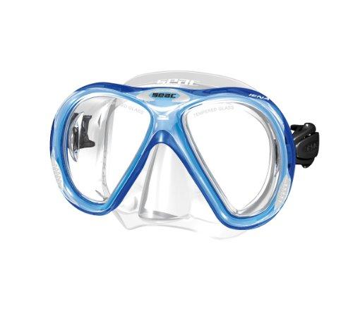 Seac Máscara IENA S/KL - Gafas de Buceo, Color Azul
