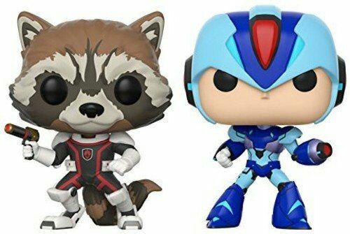 Funko Pack: Pop! Marvel Vs. Capcom Infinite 2 - Rocket Vs. Mega Man X