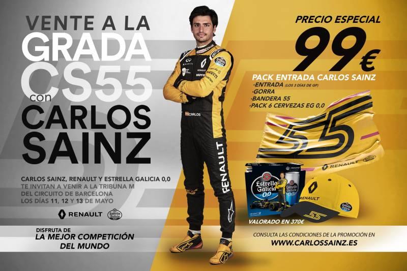 Entrada  F1 + Pack a 99€