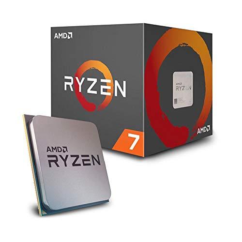 AMD Ryzen 7 2700X - Procesador con disipador de calor Wraith Prism
