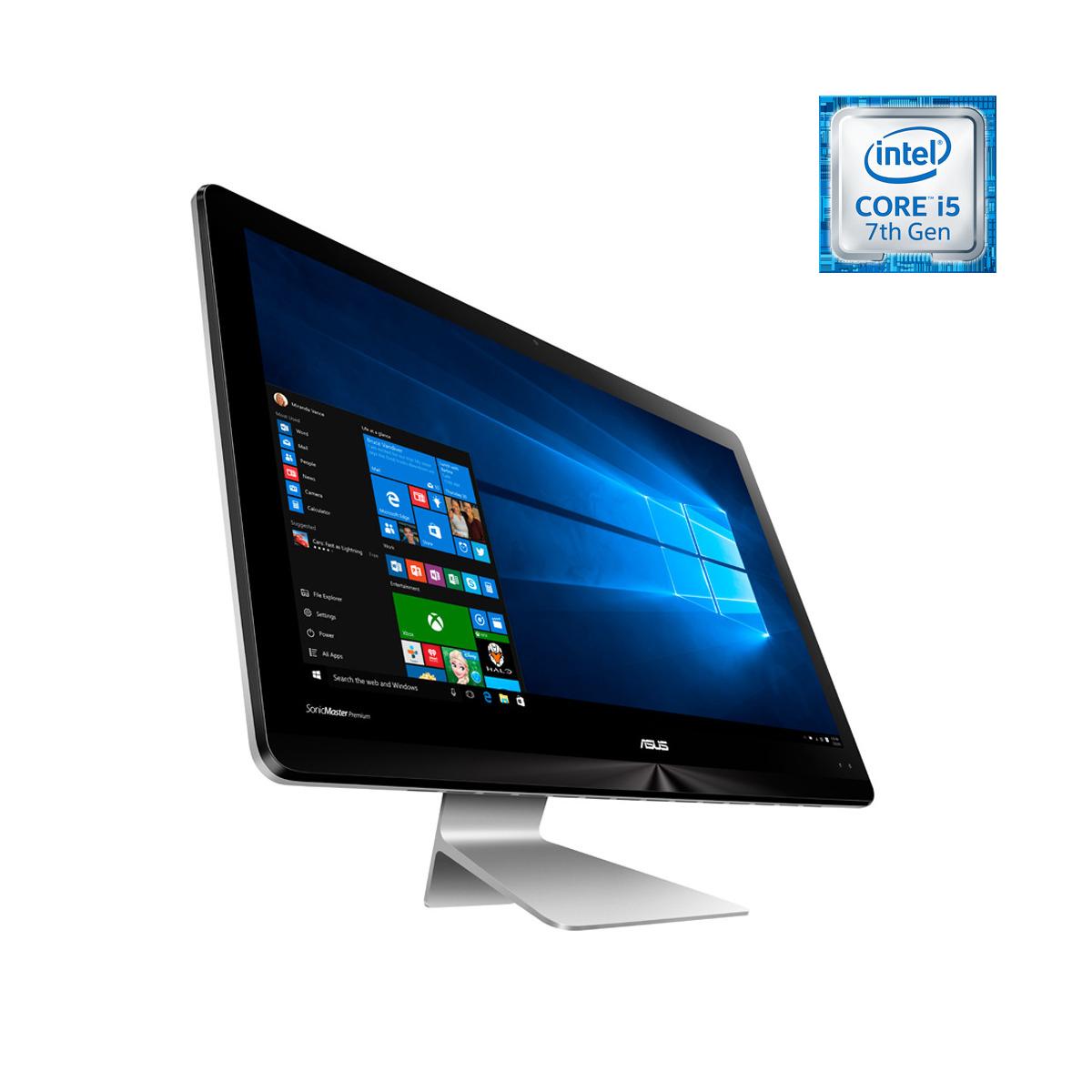 ASUS ZN220ICGK-RA012T - Ordenador todo en uno - Intel Corei5-7200U gris