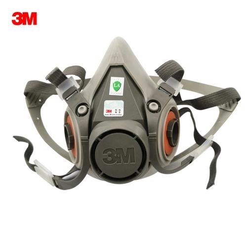 Máscara de gas media cara
