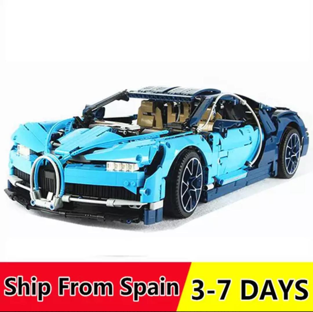 Arma tu propio Bugatti Chiron o modelos similares (Desde España)
