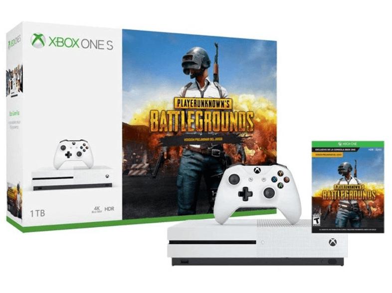 Xbox One S Blanca, 1 TB + Juego Playerunknown's por 189€