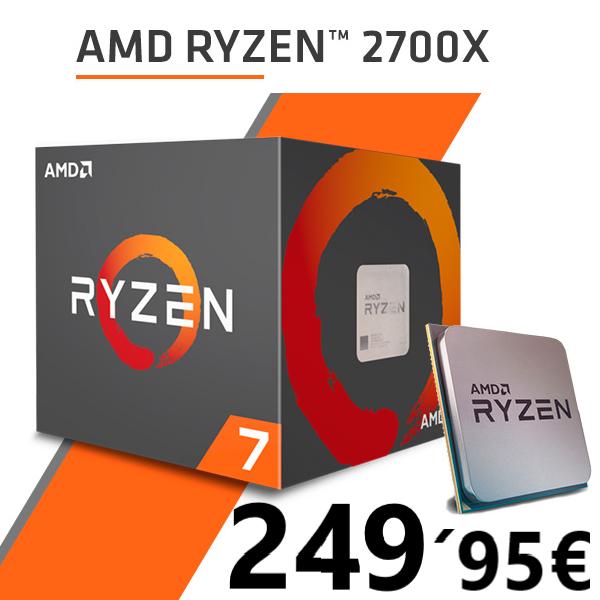 AMD Ryzen 7 2700X 4.30 Ghz + AMD Xbox Game Pass